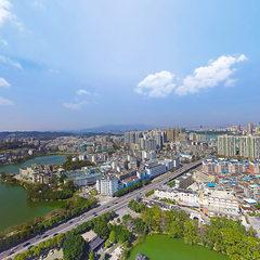 惠州西湖航拍VR全景